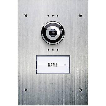 m-e modern-electronics Vistadoor VDV 910 Video door intercom Corded Outdoor panel Detached Stainless steel