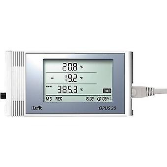 Lufft Temperature and humidity-Data logger for external sensors, recorder, 16 MB, 3,200,000 measurements