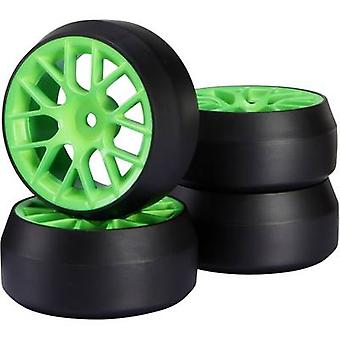 Reely 1:10 Road version hjul Drift Y-eker Green 1 dator