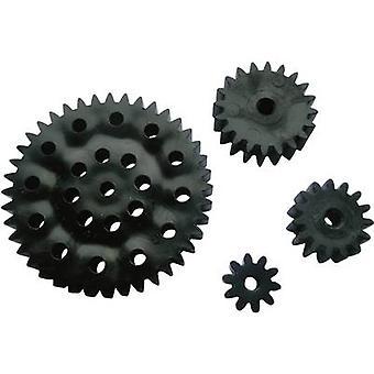 Material de treinamento Reely Workplace - Cogwheel set Module Tipo 1.0 Furo diâmetro 2.9 mm