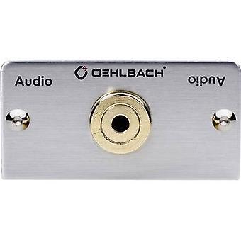 Oehlbach برو في MMT-C AUDIO-35 جاك الوسائط المتعددة inset + كابل المروحة