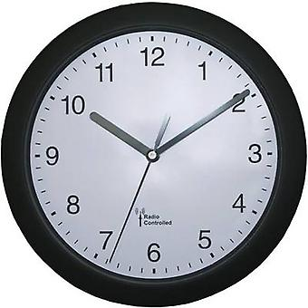 EUROTIME 56785 Radio Wall clock 25 cm x 3.8 cm Black