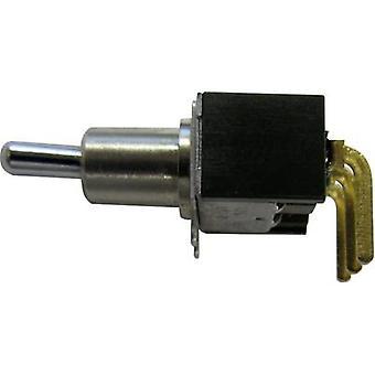 NKK Switches M2012S3S2G03 Toggle switch 28 V DC/AC 0.1 A 1 x On/On latch 1 pc(s)