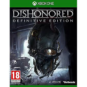 Dishonored The Definitive Edition (Xbox One) - New