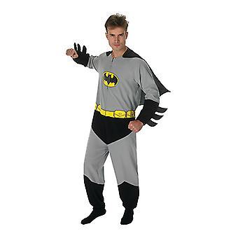 Batman Onesie Kostüm Original für Batmankostüm