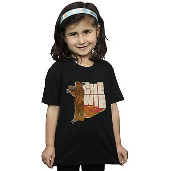Star Wars dziewczyny Solo Sokoła Chewie T-Shirt