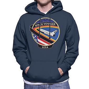 Sudadera con capucha NASA STS 61C lanzadera de espacio Colombia misión parche hombres