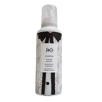 R + Co Chiffon Styling Mousse 5.6 OZ