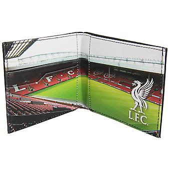 Liverpool FC officiel Mens Football Stadium portefeuille en cuir