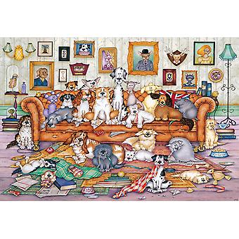 Gibsons The Barker-Scratchits Jigsaw Puzzle (500 pieces)