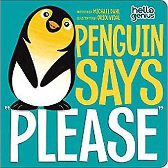 "Penguin sanoo ""Kiitos"""