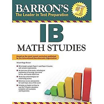 Barron's Ib Math Studies
