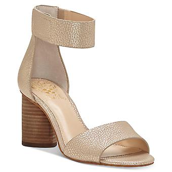 Vince Camuto Womens Jacon läder öppen tå speciellt tillfälle ankel Strap sandaler