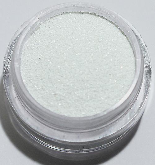1pcs finkornet glitter hvit matte