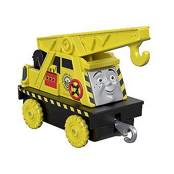 Thomas y amigos FXX07 pista principal empujan a lo largo del pequeño Kevin de fundición