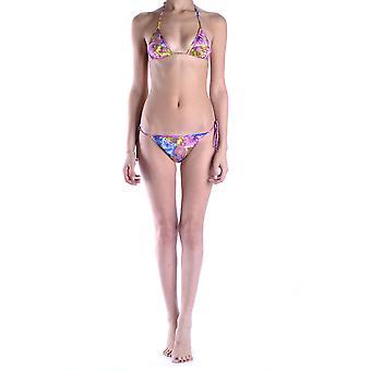 Roberto Cavalli Ezbc141020 Kvinnor's Multicolor Nylon Bikini