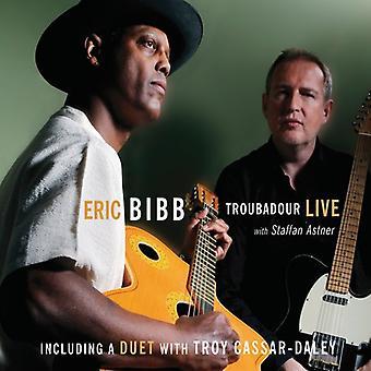 Eric Bibb - Troubadour Live [CD] USA import