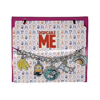 Despicable Me Watch Charm Bracelet