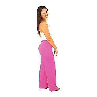 Dbg women's palazzo cotton 8 oz pants