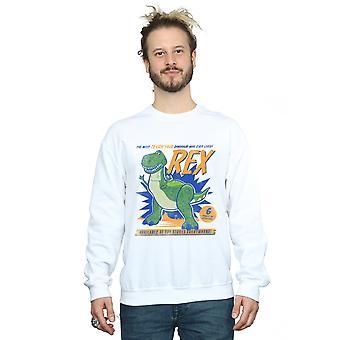 Disney Men's Toy Story 4 Rex Terrifying Dinosaur Sweatshirt