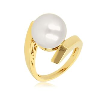 Gold-plated Ring With Mallorca Pearl 12mm