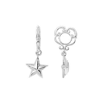 Storywheels Silver Star Dangle Charm S172