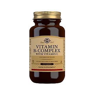 Solgar Vitamin B-Komplex mit Vitamin C Tabletten 250 (201)