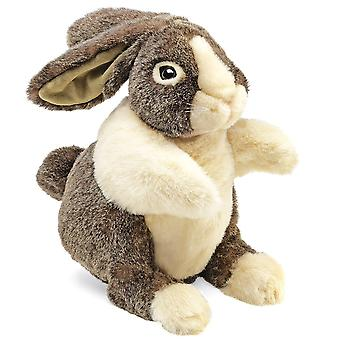 Hand Puppet - Folkmanis - Rabbit Dutch New Animals Soft Doll Plush Toys 2568