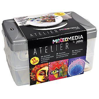 Pebeo Mixed Media Atelier Workbox
