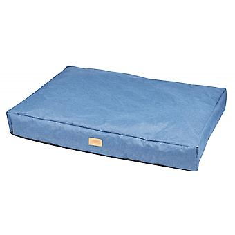 Weatherbeeta Square Pillow Dog Bed - Blue