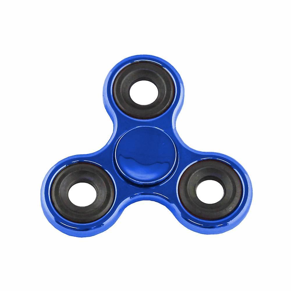 Hand Spinner Metalic Blauw
