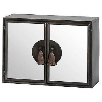 Hill Interiors Mirrored Wall Cabinet