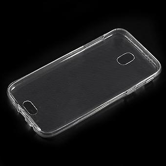 Samsung Galaxy J3 (2017) Powłoka TPU Transparant przód i tył