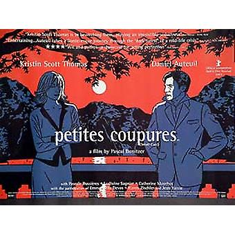 Petites Coupures (Single Sided) Original Cinema Poster