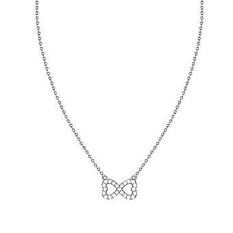 ESPRIT женщин цепи ожерелье нержавеющей стали цирконий вечной любви ESNL03262A420