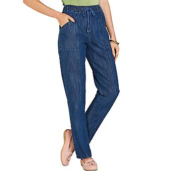 Amber Ladies Elasticated Waist Pull On Jean