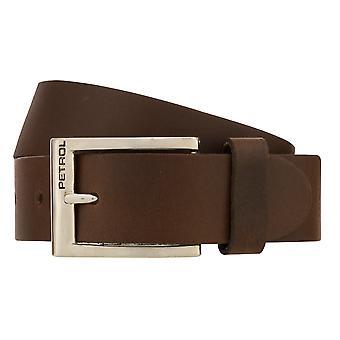 Teal Belt Men's Belt Leather Belt Jeans Belt Brown 8249