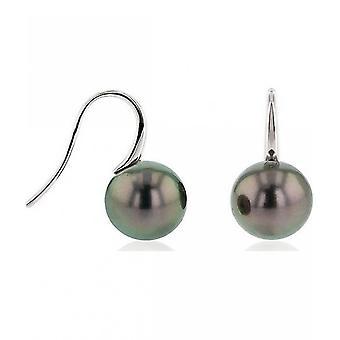 Luna-Pearls Pearl StudS TahitiPerlen 10.5-11 mm 750 White Gold 3001273