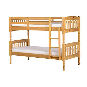 Albany Bunk Bed Single Antique Pine