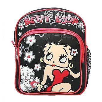 Mini Backpack - Betty Boop - Black New School Bag Book Girls 80021