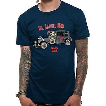 Wacky Races Adults Unisex Adults Ant Hill Mob T-Shirt