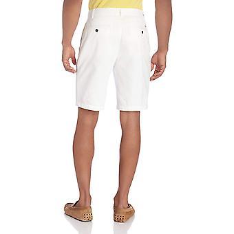 Dockers Men's Classic Fit Perfect Short Cotton D3, Black), 32W, White, Size 32
