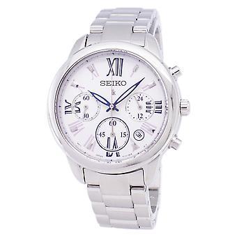 Reloj Seiko Lukia Chronograph Quartz SRWZ99 SRWZ99P1 SRWZ99P Women's