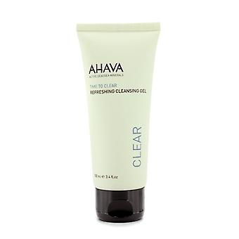 Ahava Time To Clear Refreshing Cleansing Gel - 100ml/3.4oz