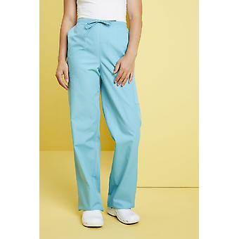 SIMON JERSEY Unisex Fitted Scrub Trousers, Aqua