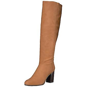 Circus by Sam Edelman Womens Silbey Fabric Almond Toe Knee High Fashion Boots
