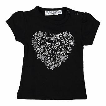 Dirkje Black Girls Tshirt Belle