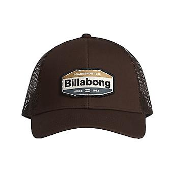 Billabong ommuurde Trucker Cap in bruin