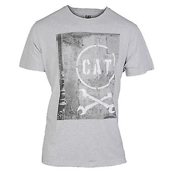KAT Lifestyle mens media korte mouw T-shirt