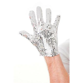 Bristol Novelty Unisex Adults Sequin Glove